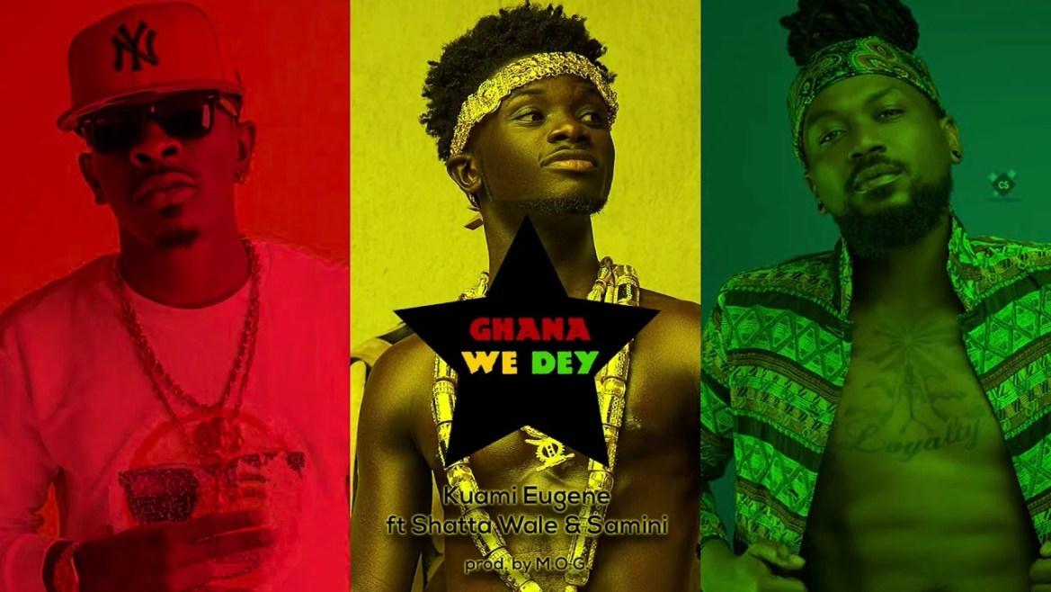 Kuami Eugene - Ghana We Dey Ft. Shatta Wale, Samini Mp3 Audio Download
