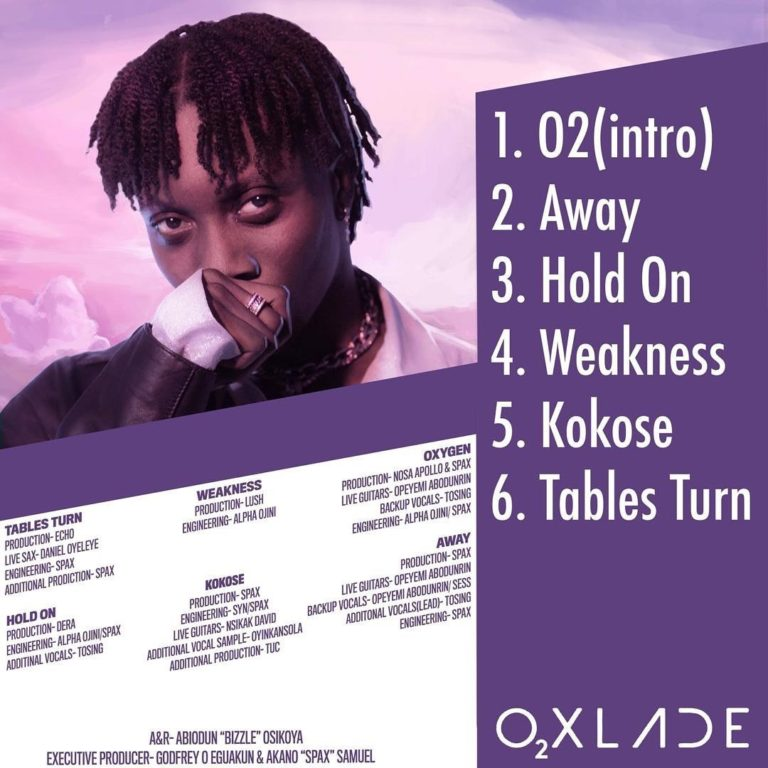 Oxlade - Tables Turn Ft. Moelogo Mp3 Audio Download