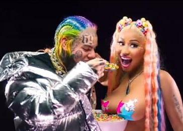 6ix9ine x Nicki Minaj - Trollz (Audio + Video) Mp3 Mp4 Download