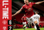 Manchester United Vs Leeds 6-2 Goals Highlights (Video)