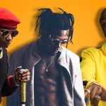 Wizkid seen sipping his wine as Davido is whisked away during fight with Burna Boy (VIDEO)