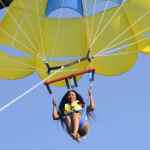 Erica Goes Parasailing In Dubai, Shares Video Online (Video)