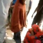 WATCH: Men seen flogging Hijab-wearing girls in an uncompleted building (Graphic)