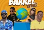 Badda General, Zj Liquid, Stylo G, Shatta Wale, Gold Up - Barrel (Remix)