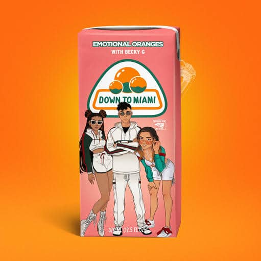 Emotional Oranges - Down To Miami Feat. Becky G