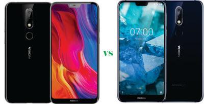 Nokia X6 vs Nokia X7
