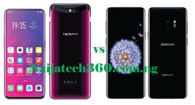 Oppo Find X vs Samsung Galaxy S9 Plus 28