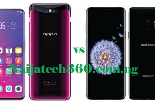 Oppo Find X vs Samsung Galaxy S9 Plus 32
