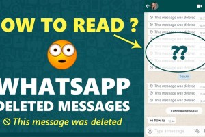 How To Read Deleted Whatsapp Messages and images 46