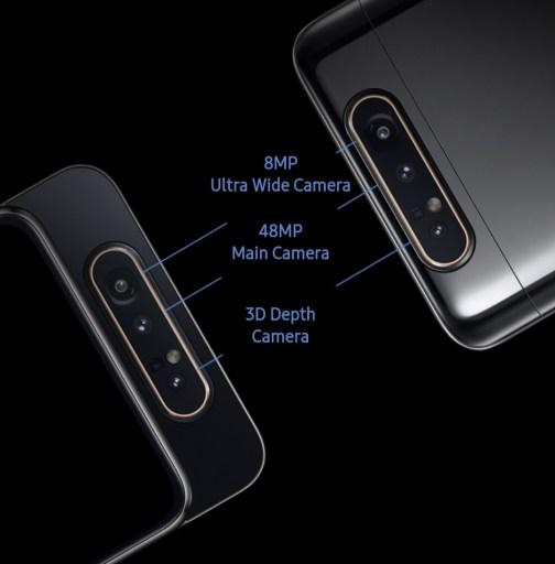 samsung a80 camera