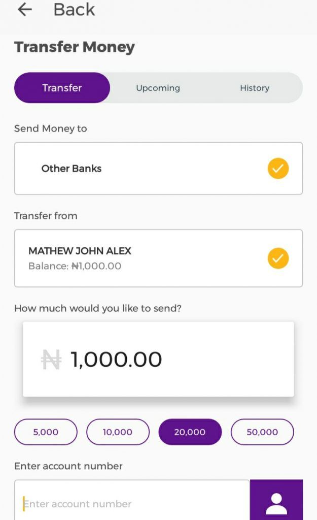 How to get the FCMB 1000 Naira cash reward easily 3