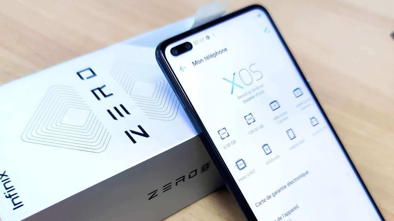 Infinix Zero 8 Price in Nigeria and Specs 1
