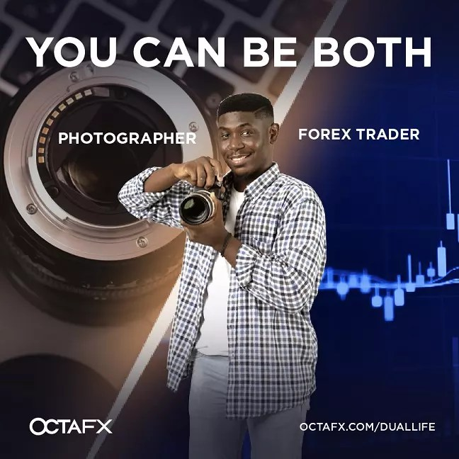 OctaFX Dual Life: Be a Photographer and a Forex Trader