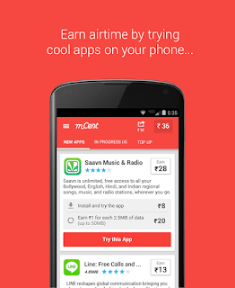GET UNLIMITED AIRTIME WITH MCENT ANDROID APP 4