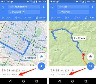 GOOGLE MAPS - FEATURES ONLY ANDROID USERS HAVE ACCESS TO 5