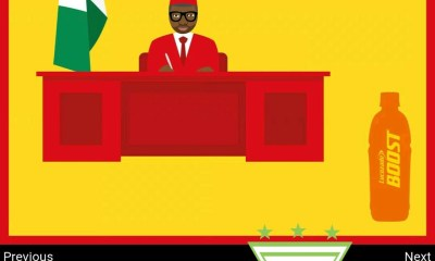 Lucozade Shades Nigerian President Buhari In New Hilarious Ad 2