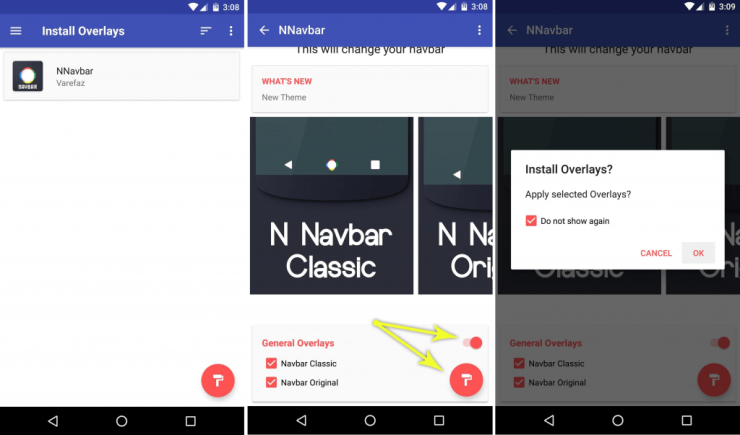 How To Replace Your Android's Navigation Bar With Android Nougat Navigation 3