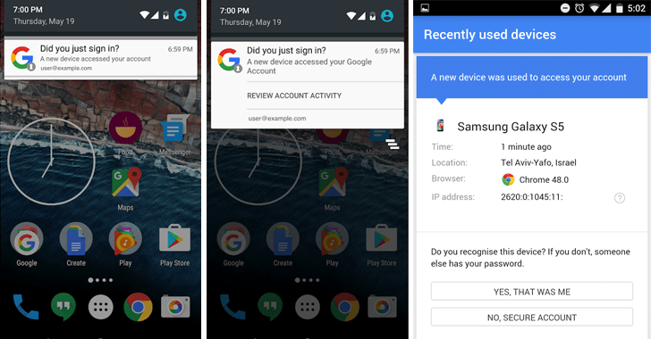 Your Android Device Will Now Alert You Once Another Device Logs In To Your Google Account 2