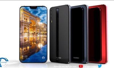 This Huawei P11 Concept Looks So Much Like A Better Version Of The iPhone X With A 40MP Camera 4