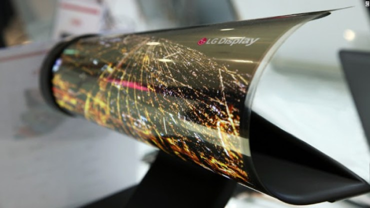 LG Unveils The World's First 65 inch OLED TV That Can Be Rolled Like A Sheet Of Paper 4