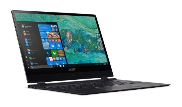 "CES 2018 : Acer Unveils The ""Slimmest"" Laptop In The World - See Specs + Photos 2"