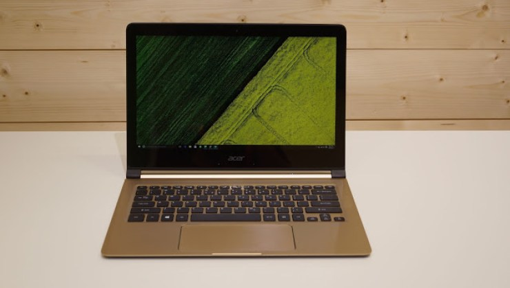 "CES 2018 : Acer Unveils The ""Slimmest"" Laptop In The World - See Specs + Photos 6"