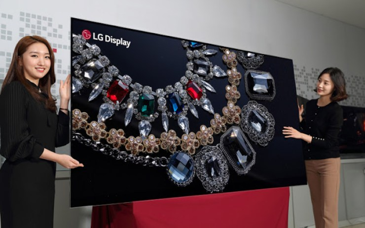 world largest oled display