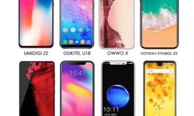 Check Out 20+ Android Smartphones That Copied The iPhone X 20