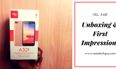 iTel A32F - iTel's Budget Friendly Phone With A Fingerprint Scanner: Unboxing And First Impressions 43