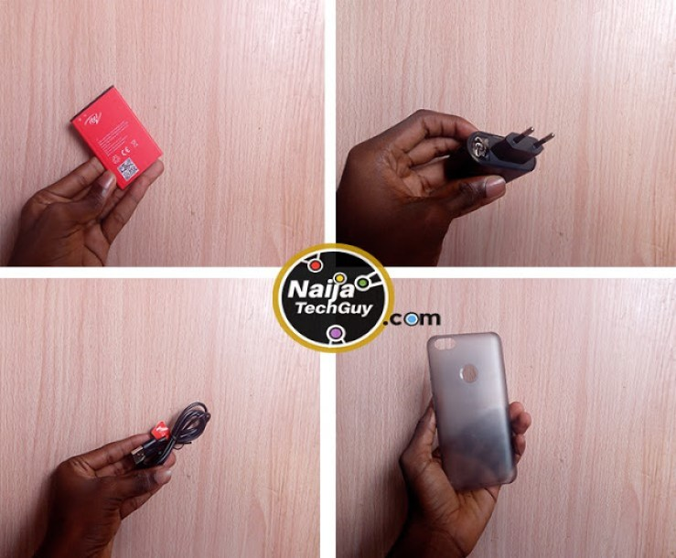 iTel A32F - iTel's Budget Friendly Phone With A Fingerprint Scanner: Unboxing And First Impressions 3