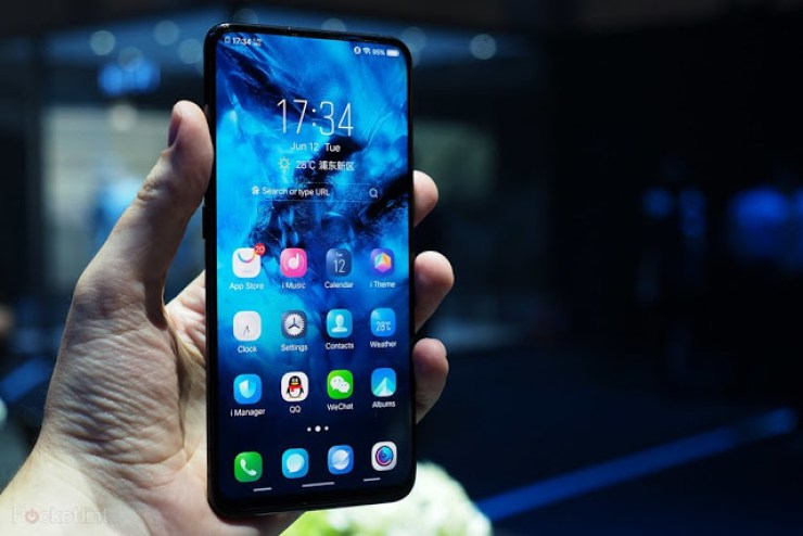 Vivo Just Launched The Vivo Nex Smartphone And The Design Beats Every Smartphone Released 2