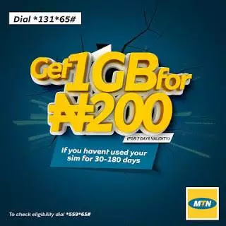 MTN Is Giving Out 1GB For Just N200 To Eligible Subscribers - How  To Get It 2