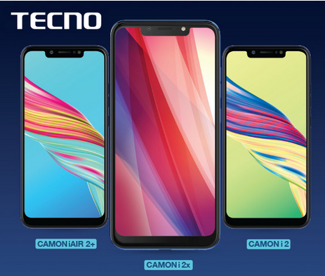 Tecno Camon i2 Plus, i2x and i2x Air Released : See Specifications And Price 2