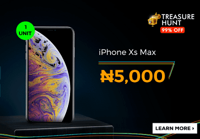 Jumia Treasure Hunt - Get An iPhone XS Max For N5,000 and HP Laptop For N2,000 2