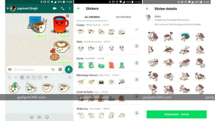 WhatsApp's Latest Update Now Supports Stickers - How To Get It On Your Phone 3