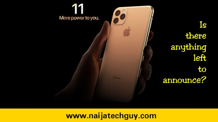 iPhone 11 – Is there anything left to announce? 7