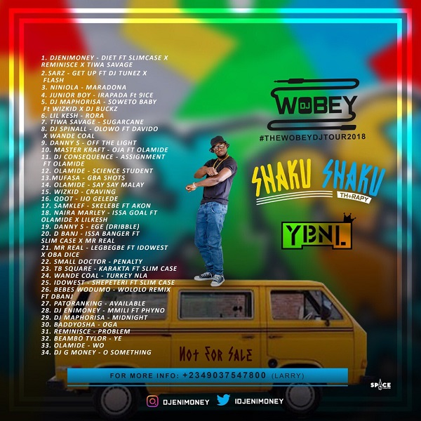 Free Download Shaku Shaku Therapy Mix by DJ Enimoney