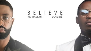 Ric Hassani Believe (Remix) Artwork