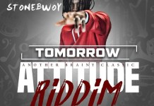 StoneBwoy Tomorrow (Attitude Riddim) Artwork