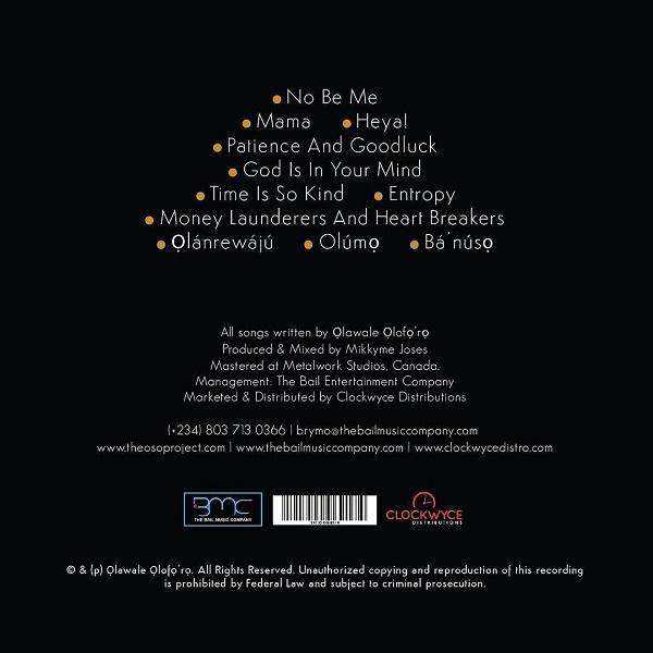 Brymo Oso Tracklist