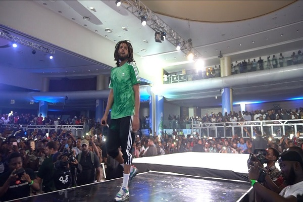 J Cole Live In Lagos Video