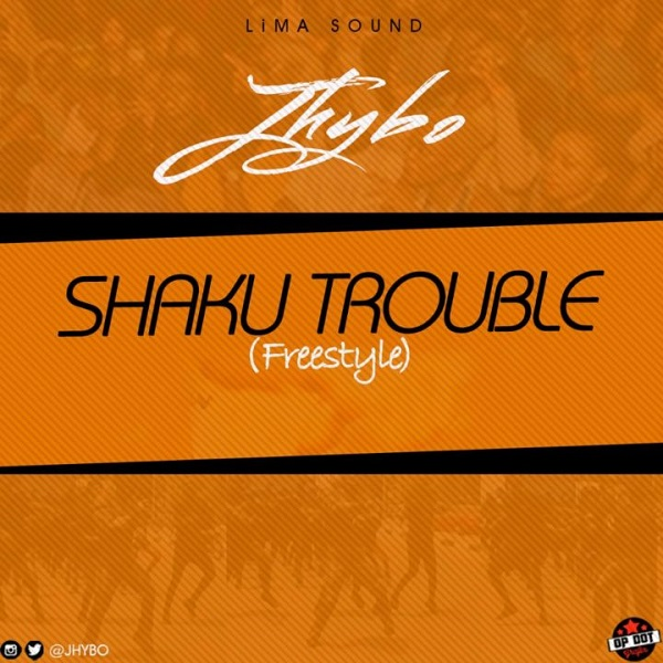 Jhybo Shaku Trouble (Freestyle) Artwork