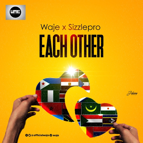 Waje & Sizzle Pro Each Other Artwork