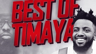 DJ Jizzi Best Of Timaya Artwork