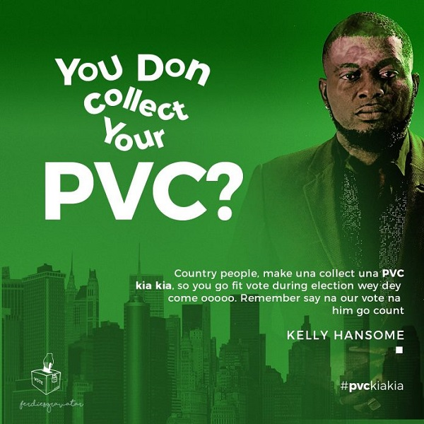"Kelly Hansome – ""Your Vote"""