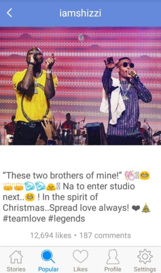 D067052D 0878 45CD 89D8 683509FAF9AC - ENTERTAINMENT: Producer, Shizzi Invites Davido And Wizkid To The Studio For A Collaboration