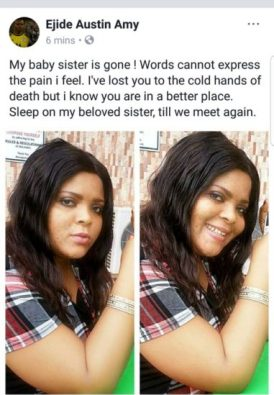 """sports1 208x300 - 9JA NEWS: """"My Baby Sister Is Gone"""" – Austin Ejide Mourns The Death Of His Sister"""