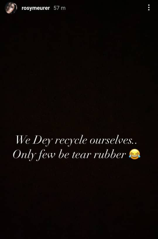 """60ad5ebb99a6c - """"I chop your own, you chop another. We dey recycle ourselves"""" Rosaline Meurer responds after Tonto Dikeh said going back to your ex is like going back to your vomit"""