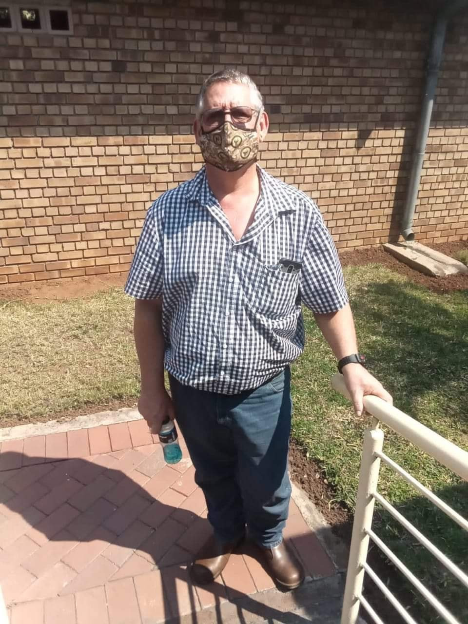 Man sentenced in South Africa for calling his colleagues