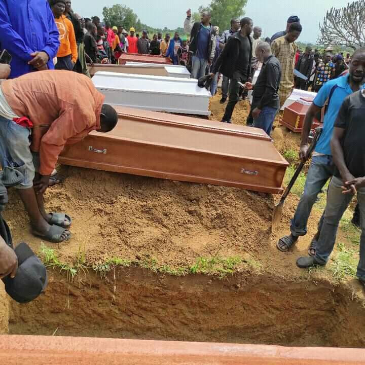 Plateau killings: Tears, grief as victims of Yelwa Zangam attack are laid to rest